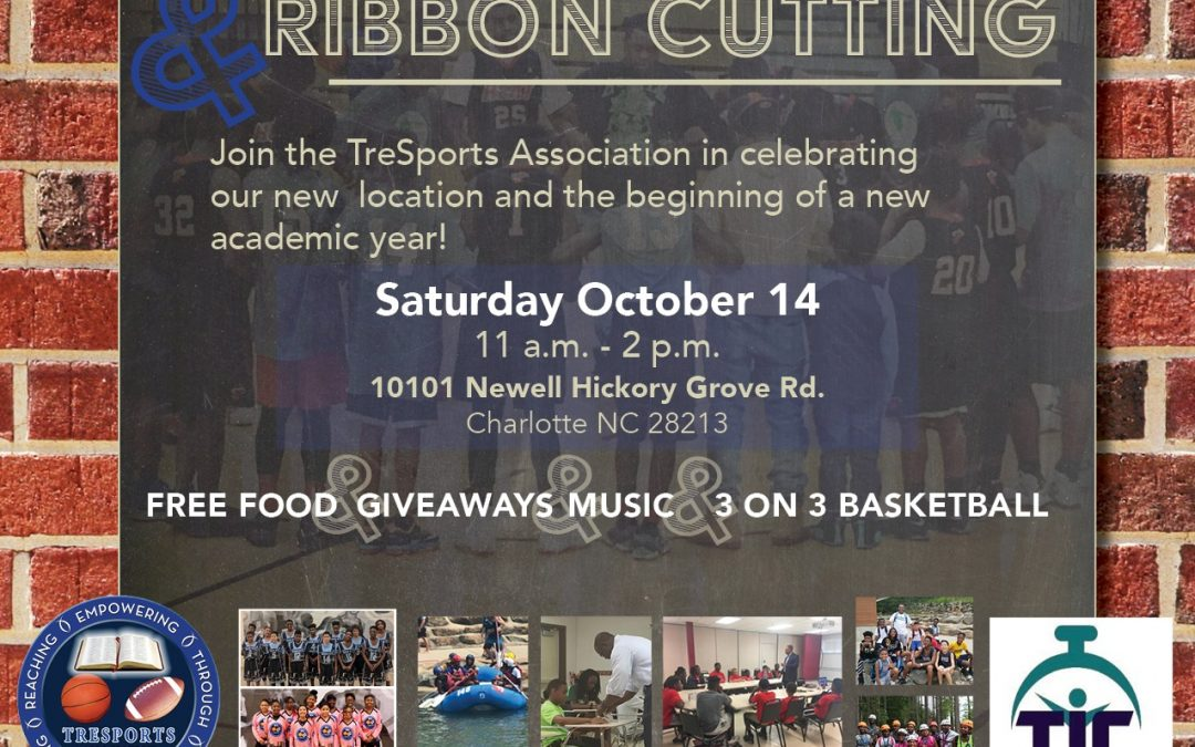Block Party Ribbon Cutting